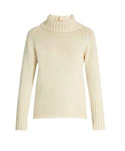 Y'S BY YOHJI YAMAMOTO   Roll-Neck Wool Sweater