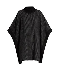 Tomas Maier | Striped Roll-Neck Wool Poncho