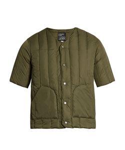 MT. RAINIER DESIGN | Mr61314 Short-Sleeved Quilted-Down Jacket