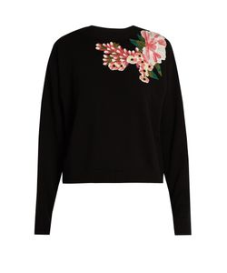 Dolce & Gabbana | -Appliqué Wool And Cashmere-Blend Sweater