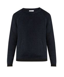 Fanmail | Ribbed-Knit Cotton And Linen-Blend Sweater