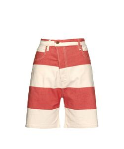 Vivienne Westwood Anglomania | Bliss Bell Striped Denim Shorts