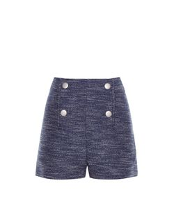Balenciaga | Button-Front Tweed Shorts