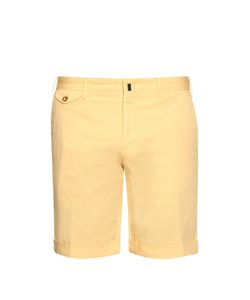 Incotex | Slim-Leg Stretch-Cotton Shorts