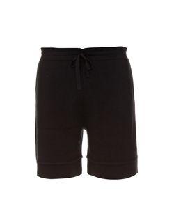 Balenciaga | Drawstring Wool-Knit Shorts