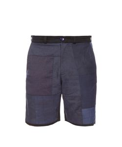 LONGJOURNEY | Avo Patchwork Cotton Shorts
