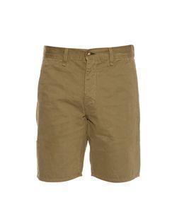 Rag & Bone | Loose-Fit Brushed-Cotton Shorts