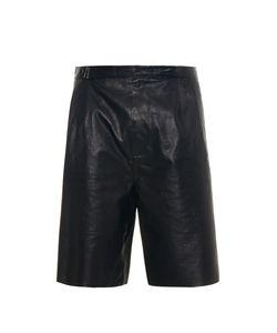 Balenciaga | Bonded Leather Shorts