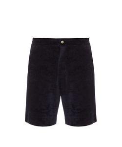 Robinson Les Bains   Orient Cotton-Towel Shorts
