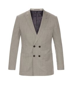 MATHIEU JEROME | Double-Breasted Wool Blazer