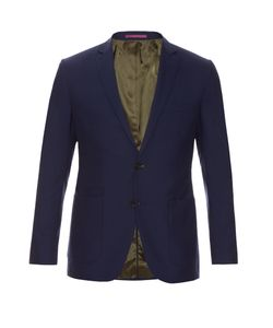 MATHIEU JEROME | Single-Breasted Two-Button Wool Blazer