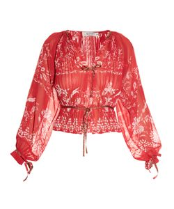 Etro | -Print Pleated Blouse