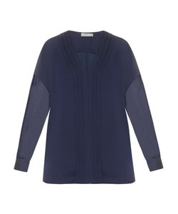 Vince | V-Neck Satin Blouse