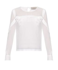 Preen By Thornton Bregazzi | Mar Silk-Georgette Blouse