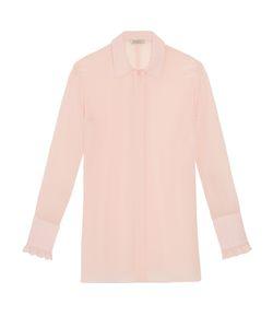 Nina Ricci | Ruffled Cuff Silk Shirt