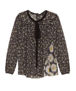 Marc Jacobs | Daisy-Print Cotton-Voile Blouse