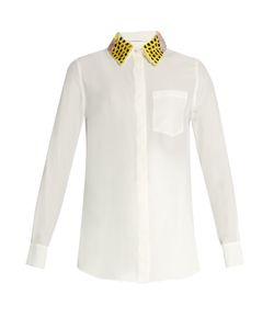 Altuzarra | Chica Detachable-Collar Long-Sleeved Shirt