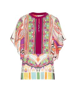 Etro | Paisley And Print Silk-Blend Blouse