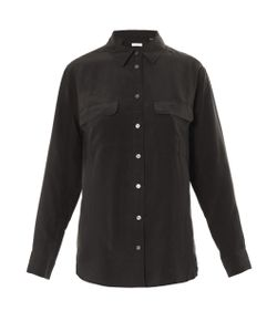 Equipment | Signature Washed-Silk Shirt