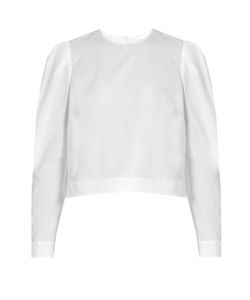 BROCK COLLECTION | Babette Long-Sleeved Cotton Blouse
