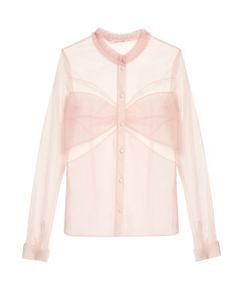 Mary Katrantzou | Fosse Tulle Blouse