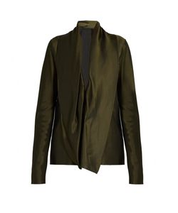 Haider Ackermann | Cornwallis Draped Satin Blouse