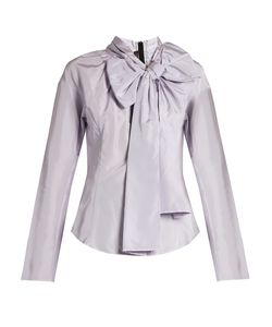 Marc Jacobs | Decorative-Pussybow Taffeta Blouse
