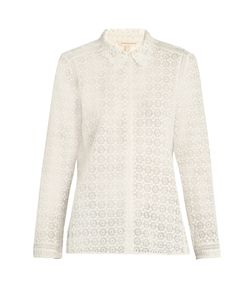 Rebecca Taylor | Point-Collar Lace Blouse