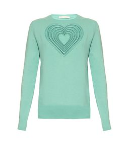 Christopher Kane | Love Heart Wool And Cashmere-Blend Sweater