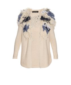 TABULA RASA | Kokkola Fringed Knitted Cardigan