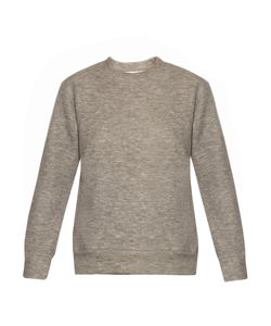 RAEY | Kangaroo-Pocket Cashmere-Blend Sweatshirt