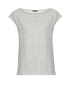 ATM | Boat-Neck Cap-Sleeved Sweatshirt
