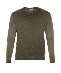 Valentino | Star-Panel Crew-Neck Sweatshirt