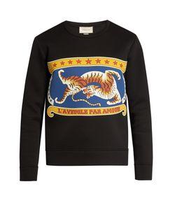 Gucci | Circus-Print Cotton Sweatshirt