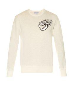 Alexander McQueen | Tiger Skull-Print Jersey Sweatshirt