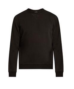 ATM | Fleece-Panel Cotton Sweatshirt