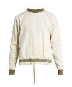 LONGJOURNEY | Nash Back-Zip Cotton-Canvas Sweatshirt