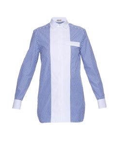 Balenciaga | Banker Striped Poplin Shirt