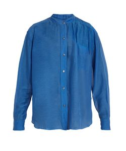 ISABEL MARANT ÉTOILE | Lixy Cotton And Silk-Blend Shirt