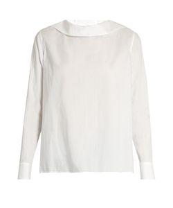 Y'S BY YOHJI YAMAMOTO   Button-Back Cotton-Poplin Shirt