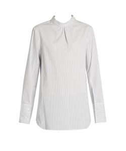 Tibi | Samuel Open-Back Shirt