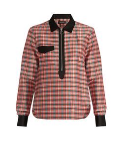 Isabel Marant | Molan Contrast-Collar Checked Shirt