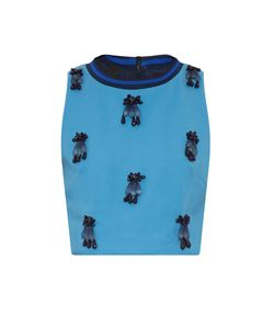 Mother Of Pearl | Morley Embellished Cropped Top