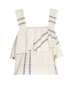 ACE & JIG | Frances Ruffled Cotton Top