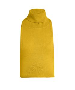 PALMER/HARDING | Roll-Neck Backless Wool-Knit Top
