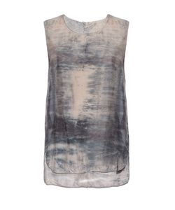 Raquel Allegra | Sunset Tie-Dye Silk Top