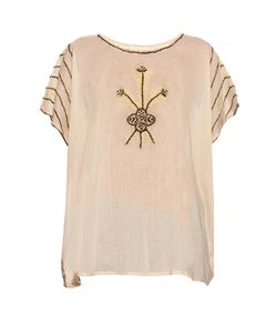 THE GREAT | The Willow Embroidered Top