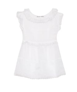 Jupe By Jackie | Stein Cotton-Organza Top