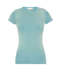 Stella Mccartney | Ribbed-Knit Multicoloured Top