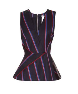 Altuzarra | Miles Striped Wool-Blend Top